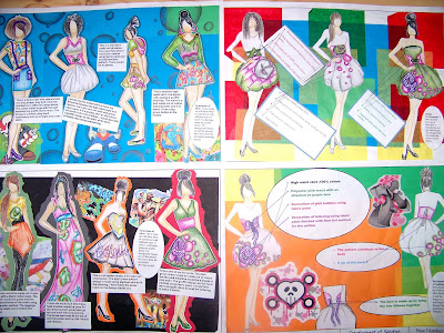 gcse textiles coursework folder help