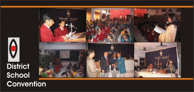 SpicMacay District convention of saharanpur schools