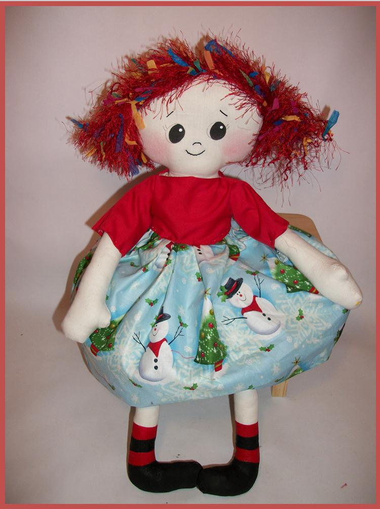 Miss Tessie Rag Doll Sewing Pattern from Sew Cute Patterns