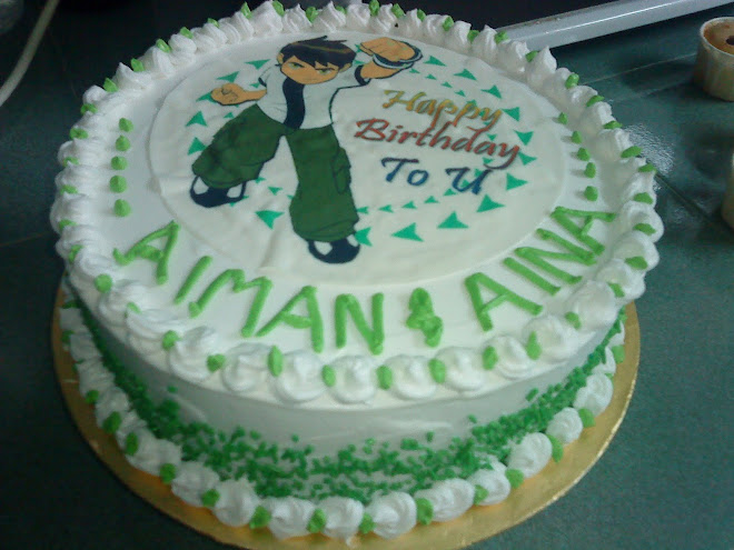 Ben Ten Birthday Cake             800gm    RM 45.00