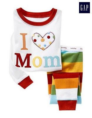 Baju tidur GAP (I LOVE MOM)