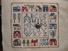 12 houses Sampler