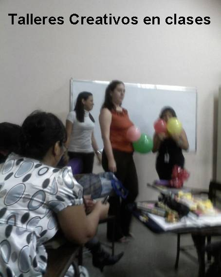 Talleres Creativos en clases