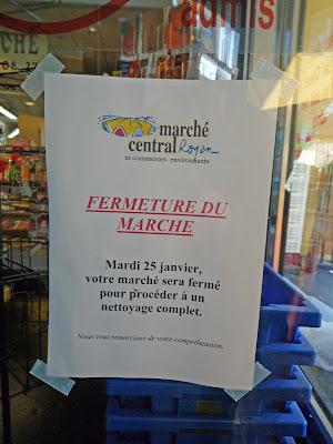 Le marché de Royan fermé mardi