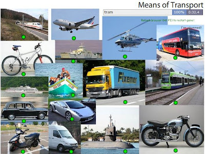 Chiew's ELL EFL ESL CLIL TEFL Games Activities: Means of Transport