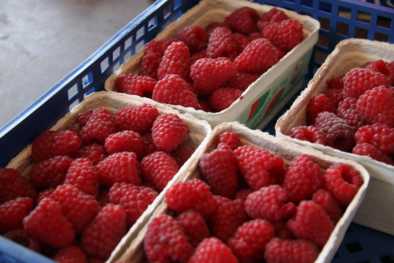 raspberries in Germany