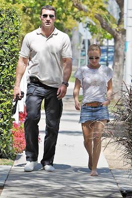 Hayden Panettiere and Wladimir Klitschko Hot Photo