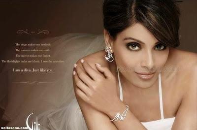 Bipasha Basu with Gili Diamonds