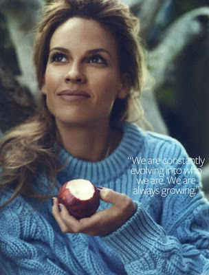 Hilary Swank Cover Instyle Usa Photoshoot 2010
