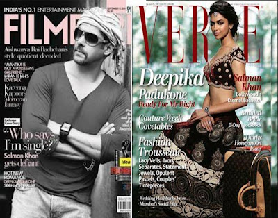 The Suptember Issues Filmfare and Verve Magazines