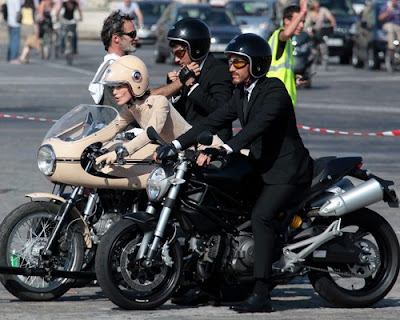 Keira Knightley: Chanel Commercial Motorcycle Sexiness