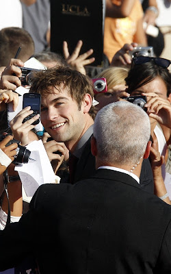 Chace Crawford promoting