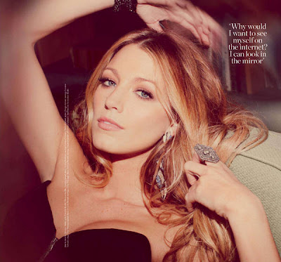 Blake Lively on the Cover of Marie Claire Magazine Photoshoot