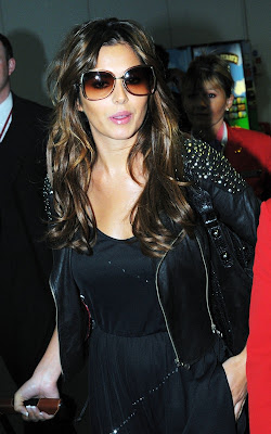 Cheryl Cole Lands In London Photo