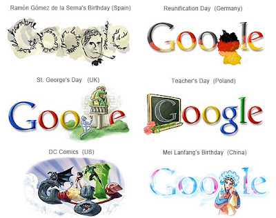 Google Logos Which you Never Seen Before