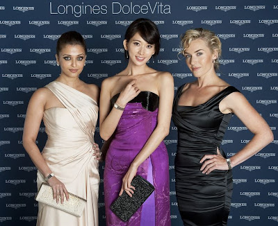 Aishwarya Rai photoshoot for Longines DolceVita Collection in Rome