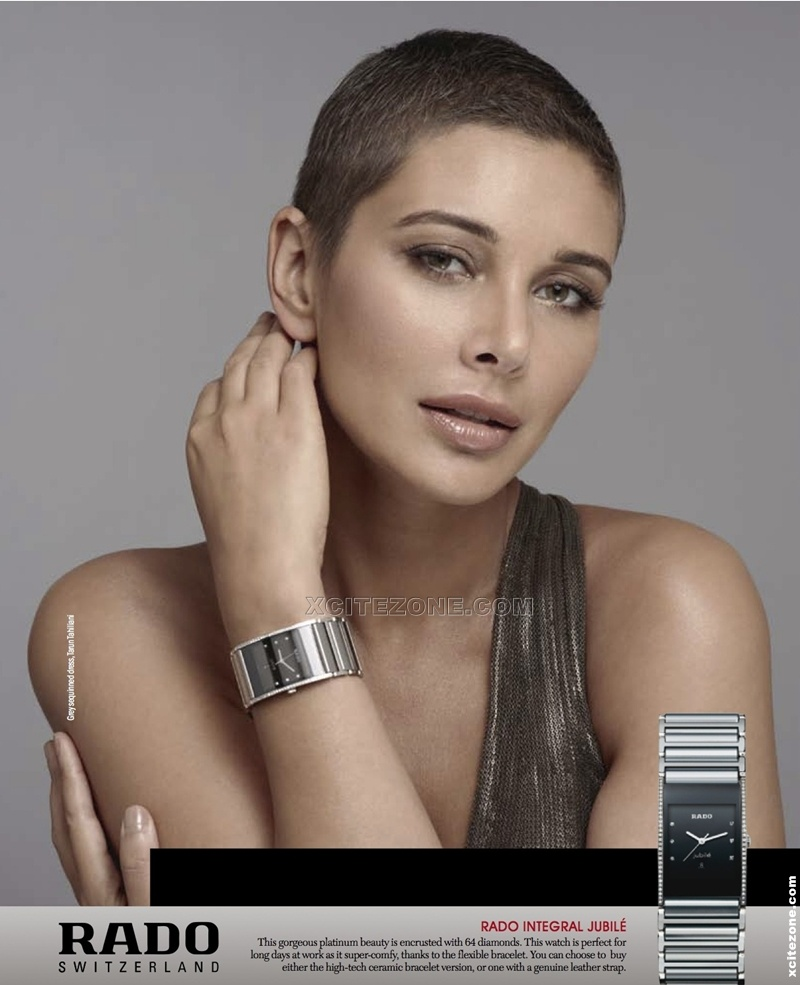 Lisa Ray photoshoot for Rado Watches pictures