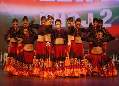 Bellydance,India got talent