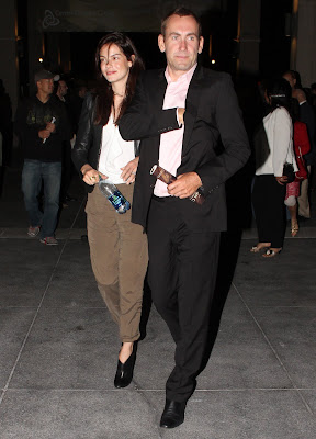 Michelle Monaghan Visit @ the Ahmanson Theatre in L.A.