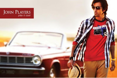 Ranbir Kapoor on the cover of New John Players Ads
