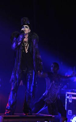 Adam Lambert, American singer, songwriter, and actor