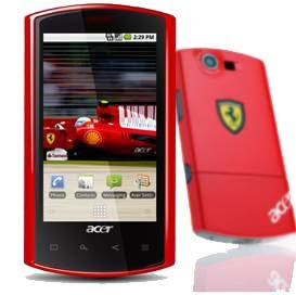Acer Ferrari Mobile Photos