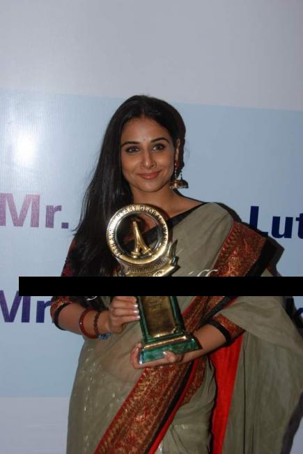 Bollywood Actress Vidya Balan @ Priyadarshni Awards