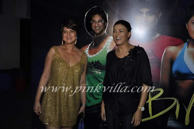 Sushmita Sen and Wasim Akram attend at Candice Pinto's birthday bash