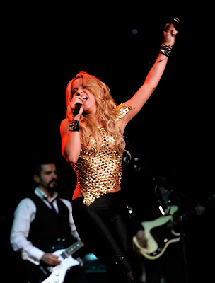 Shakira Live Performance at Madison Square Garden Pictures