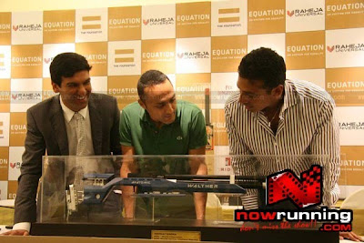 Rahul Bose and Mahesh Bhupati meet @ Charity Auction Press