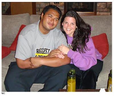 Sam Poueu and Stephanie Anderson Photos