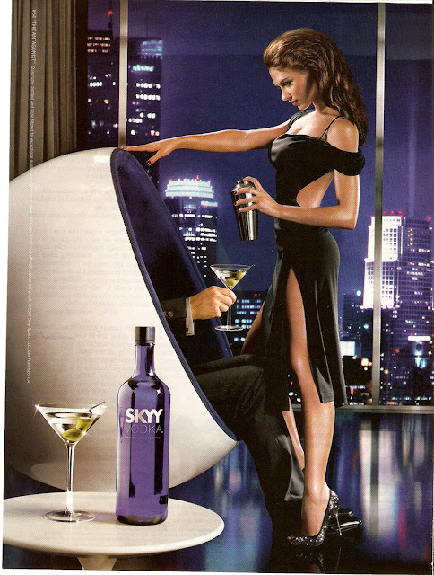Skyy Vodka Sexy Ad Campaign Photos