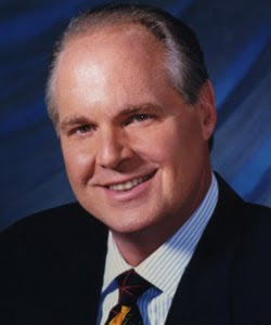 Rush Limbaugh,  American radio talk show host