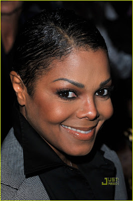 Janet Jackson and Wissam Al Mana Attend Fashion Week 2011