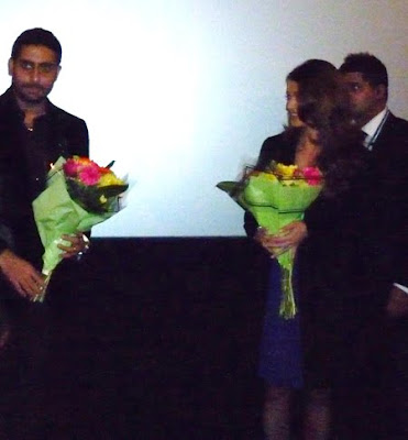 Aishwarya and Abhishek Bachchan Robot Premiere In London
