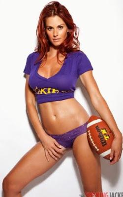 Jaime Edmondson Models Victoria's Secret NFL Fashion Pics