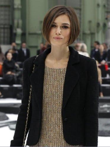 Keira Knightley New Hair Styles