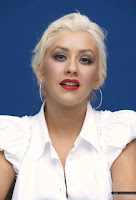 Christina Aguilera Burlesque Press Conference