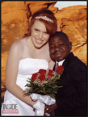 Gary Coleman and His ex-wife