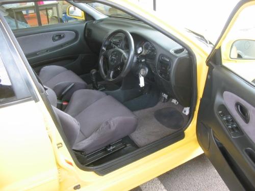 Modified Wira Mitsubishi Lancer Evolution Nice Yellow Evo3 Interior
