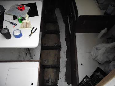 floor of galley