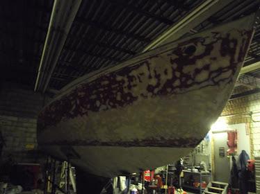 starboard sanding