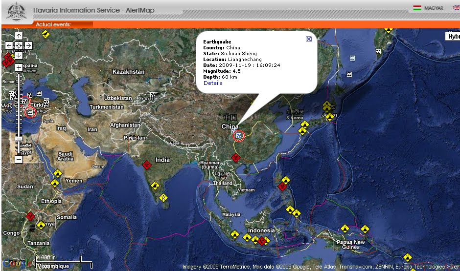 Development catalyst alertmap keeping you informed about danger zones its called alertmap by hungarian national association of radio distress signalling and infocommunications rsoe operates emergency and disaster gumiabroncs Image collections