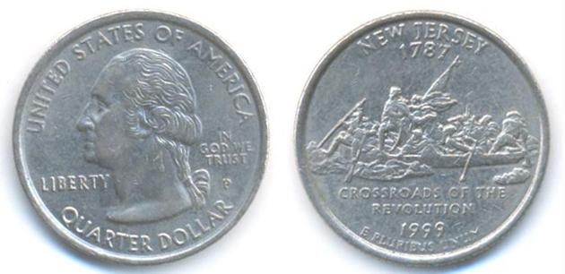 Washington (NJ) United States  City pictures : ... Quarter or Cents 25 Year 2000 Washington Quarter New Jersey