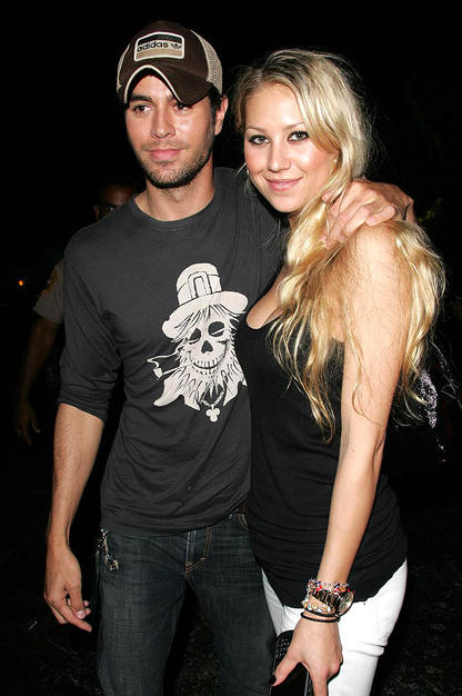 kournikova and enrique. enrique iglesias and anna