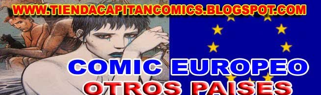COMIC EUROPEO OTROS PAISES