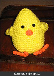 Easter Chick Pattern – Catalog of Patterns