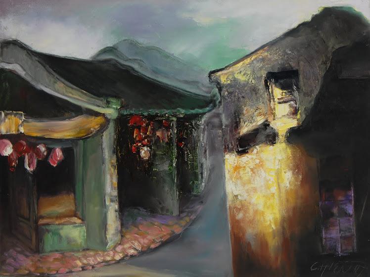 Tranh Nguyễn Chơn Hiền
