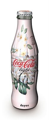 Coca Cola light diseño botella Juan Duyos