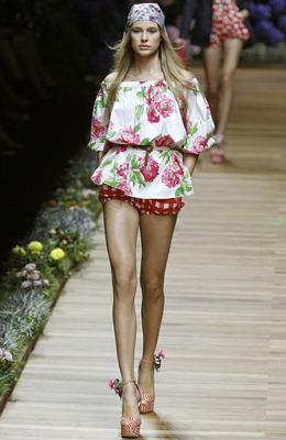 D&G Milan Fashion Week Primavera-Verano
